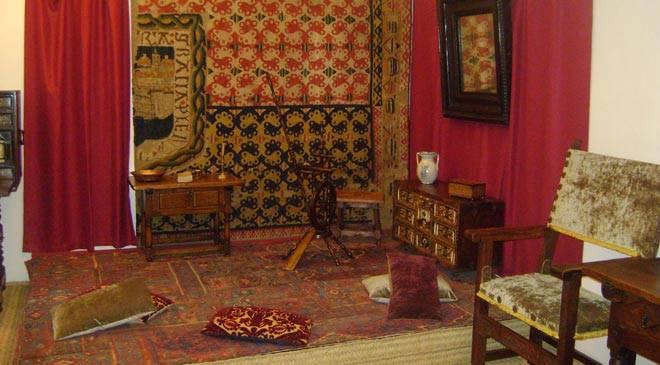 casas museo de Castilla y León Interior casa museo cervantes