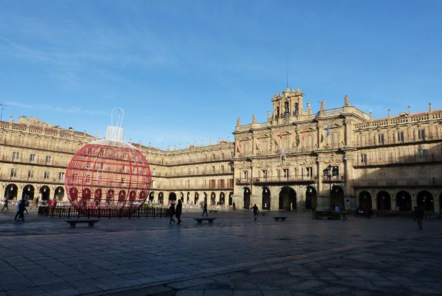guía de Salamanca Plaza Mayor