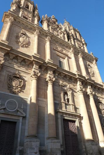 guía de Salamanca la iglesia de la clerecía