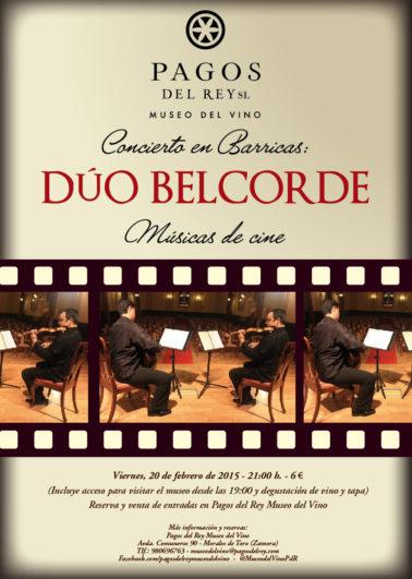 Músicas de Cine en el Museo del Vino