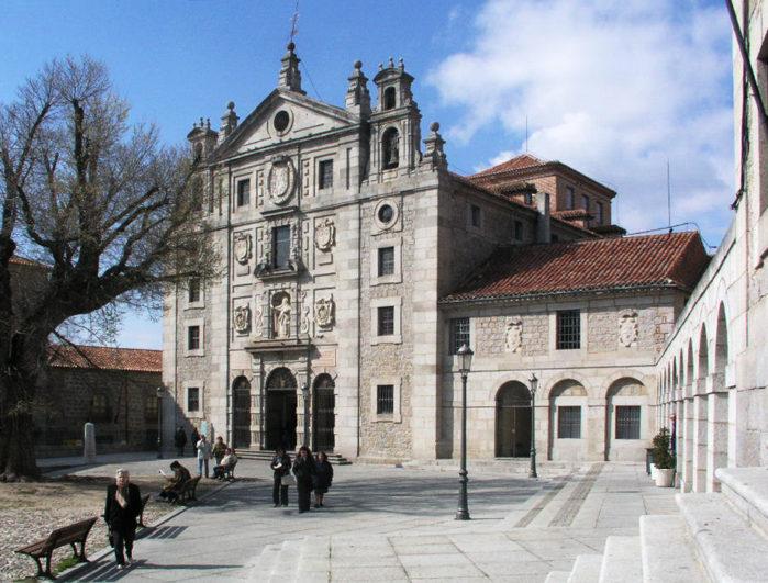La Iglesia y Convento de Santa Teresa de Jesús en Ávila