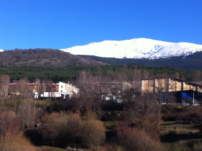 Destino Castilla y León - Vistas de la Sierra de Guadarrama desde la Senda de los Reales Sitios
