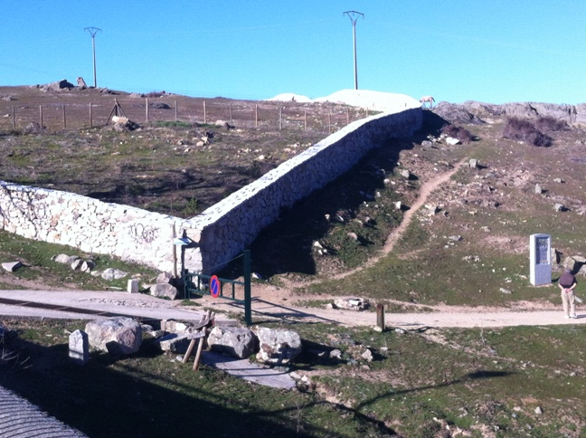 Destino Castilla y León - Intersección entre la senda de los Reales Sitios y camino a Valsaín