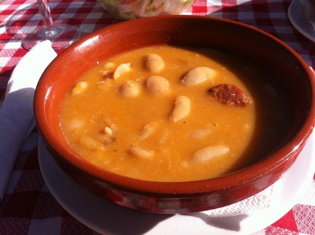 Destino Castilla y León - comer en Valsaín - Judiones de La Granja