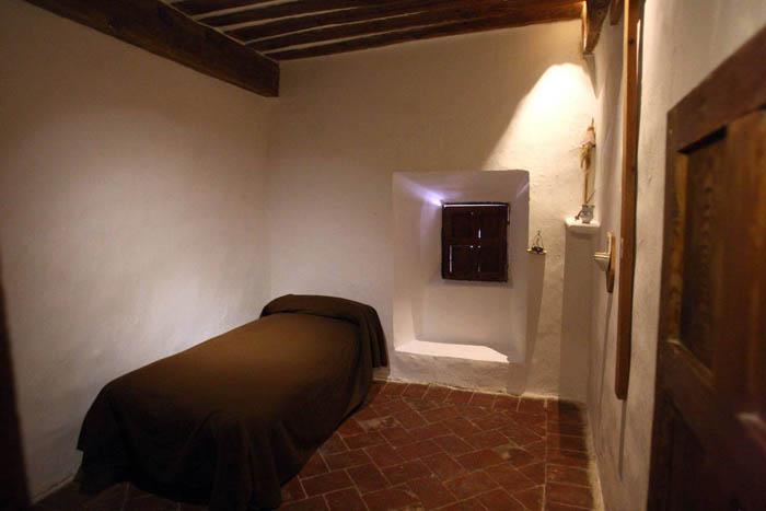 Celdas del convento Foto: www.novabella.org