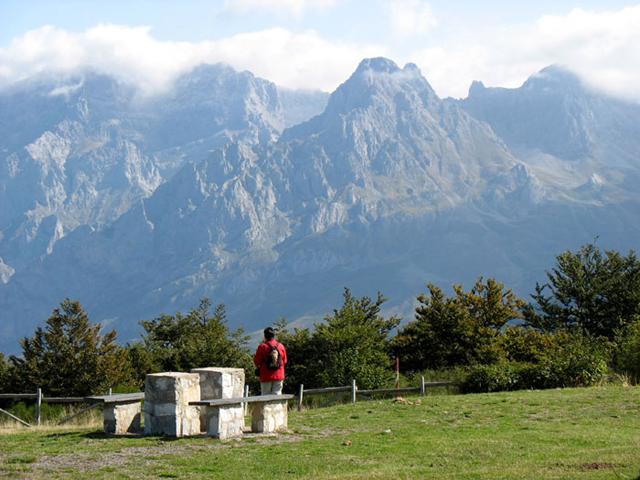 mirador de Panderruedas en los Picos de Europa