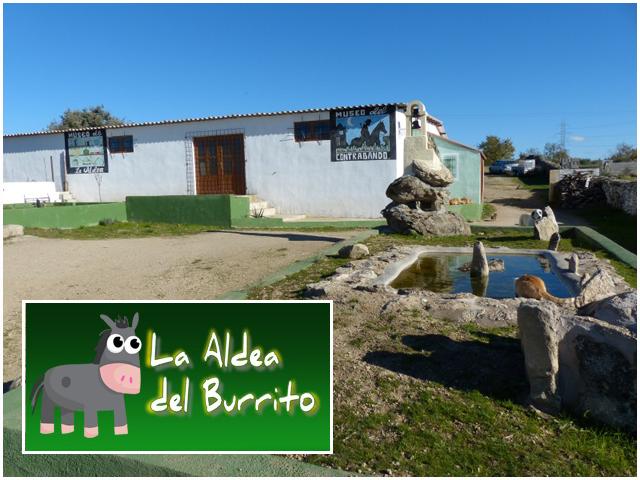 La aldea del burrito en Aldeadávila de la Ribera - Salamanca