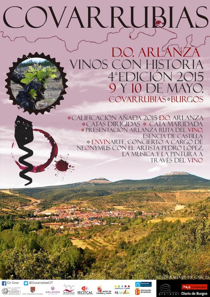 cartel IV edición de la feria del vino de la DO Arlanza_2