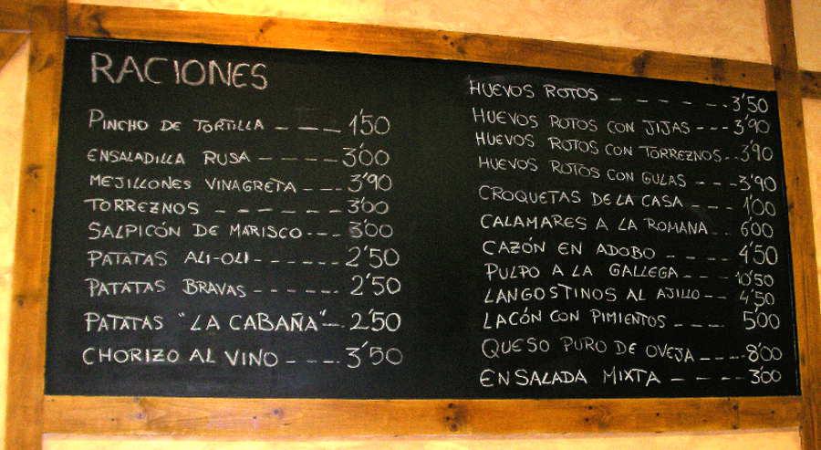 Taberna La Cabaña - Destino Castilla y León - Taptas y canapés 2