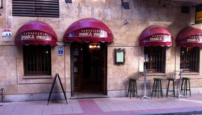 Cervecería Deboca Enboca - Destino Castilla y León - Fachada