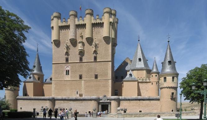 Torre de Juan II en el Alcazar de Segovia