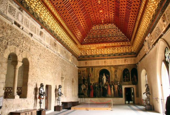 Sala mudejar del Alcazar de Segovia