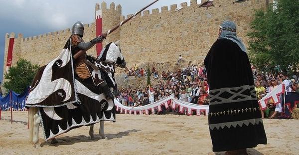 justas medievales en áVila