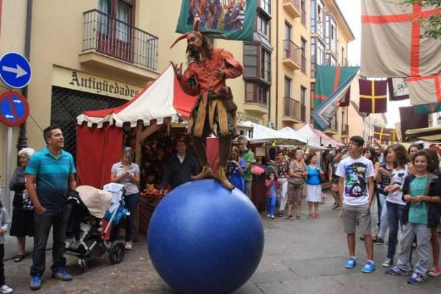 Mercado Medieval de Zamora 2015 - Saltinbanqui - Destino Castilla y León