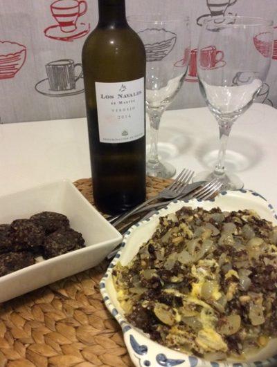 Morcilla de burgos y revuelto de morcilla - Destino Castilla y León