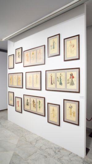 Bocetos de Coco Chanel en la Casa Lis - Destino Castilla y León