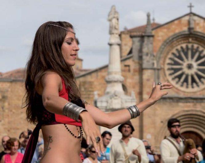 Danza del vientre AvilaMedieval 2015 - Destino Castilla y León
