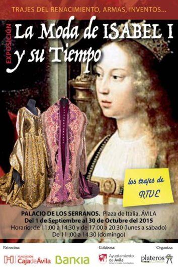 Exposición de trajes de Isabel