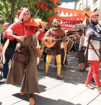 Mercado Medieval de Zamora 2015 - Musicos - Destino Castilla y León