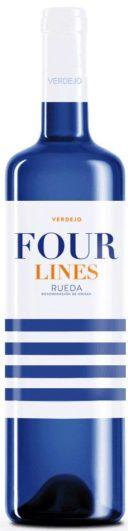 Botella verdejo Four Lines