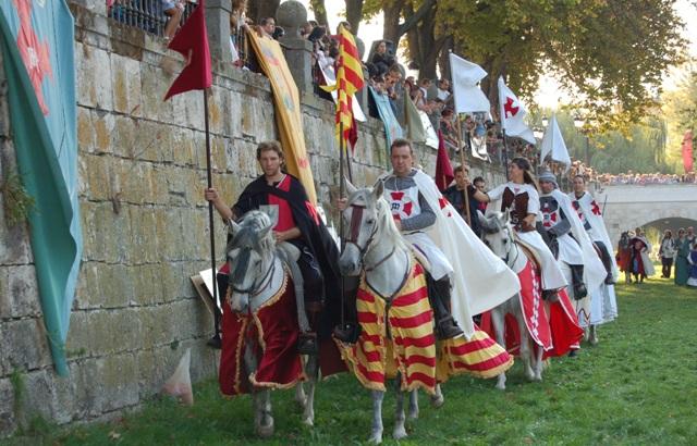 Caballeros en el Mercado Medieval de Burgos - Destino Castilla y León