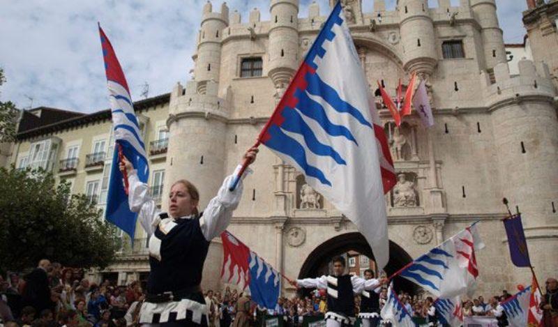 Fin de semana Cidano - banderas - Destino Castilla y León