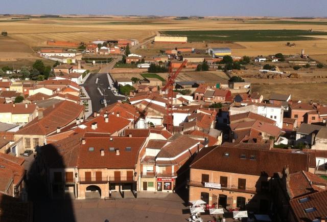 pasar el día en Alaejos - Vistas desde la torre de San Pedro de Alaejos