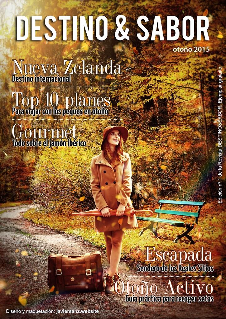 Portada Destino&Sabor Edición otoño 2015