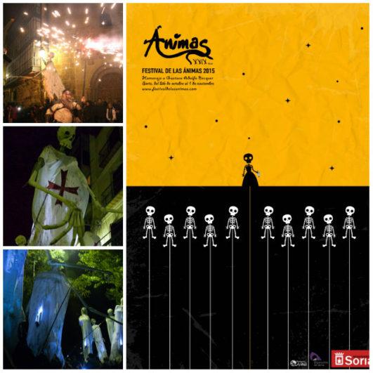 Noche de las Ánimas collage