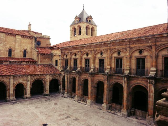 Claustro de San Isidoro de León Fuente: www.ucm.es