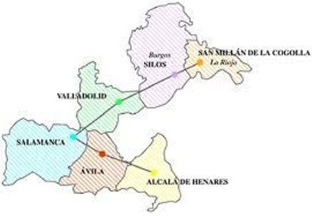 Ruta de la Lengua Castellana - Ruta - Destino Castella y León