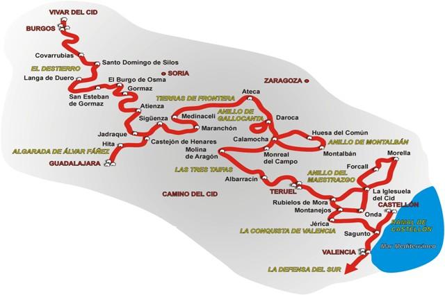 Camino Del Cid - Ruta - Destino Castilla y León