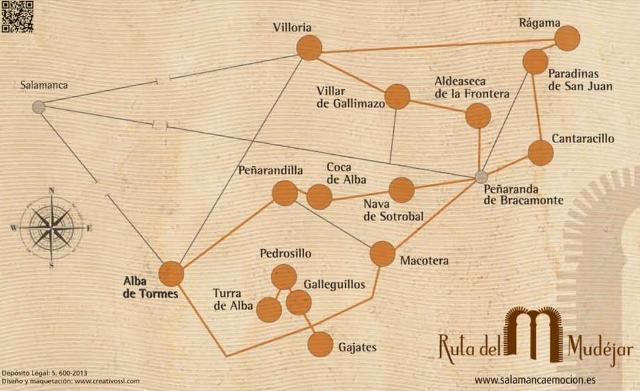 Ruta del Mudejar - Ruta - Destino Castilla y León