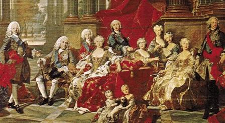 Felipe V y su familia - Destino Castilla y León