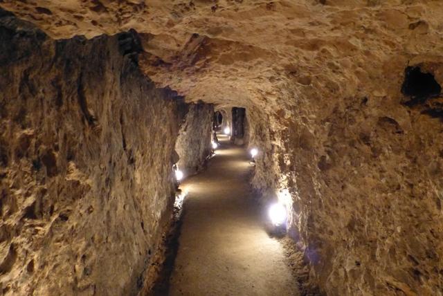 Interior de la mina - Destino Castilla y León