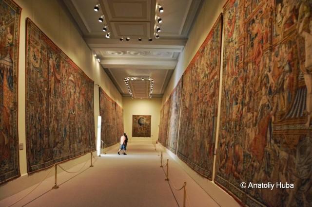 La Granja de San Ildefonso - museo de tapices