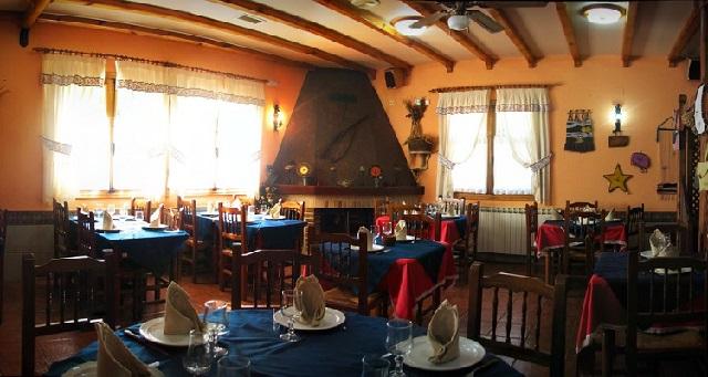 Restaurante de la Casa Rural Agoga - Destino Castilla y León
