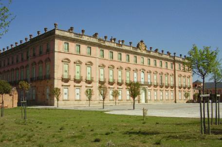 Fachada del Palacio Real de Riofrío - Destino Castilla y León