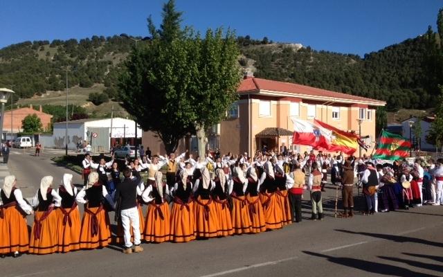 Festival de folklore - Fuente Cabezón de Pisuerga