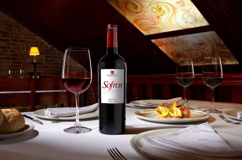 Portada del vino Sofros reserva 2012 - Destino Castilla y León