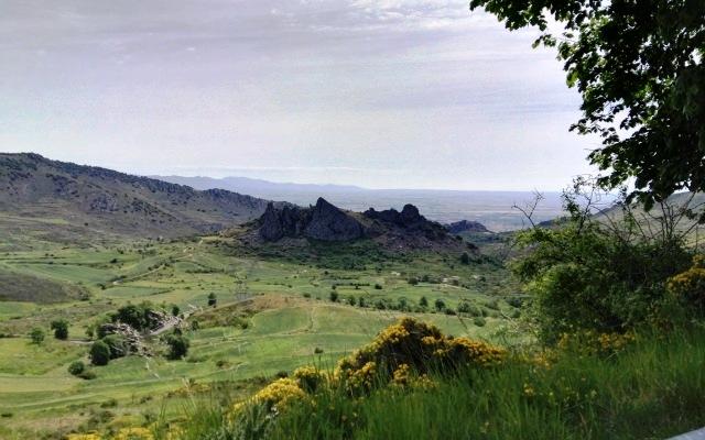 Diapiro de Poza de la Sal desde el borde del páramo - Destino Castilla y León