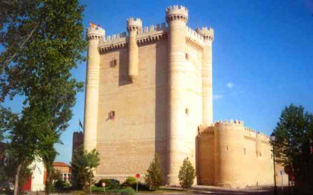 Castillo de Fuensaldaña - Imagen de mapio.net