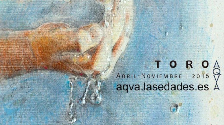 Cartel de las Edades del Hombre - AQVA - Toro 2016