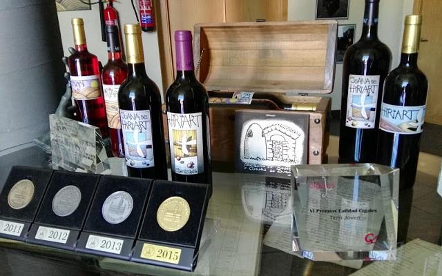 Premios internacionales de la Bodega Hiriart - Destino Castilla y León