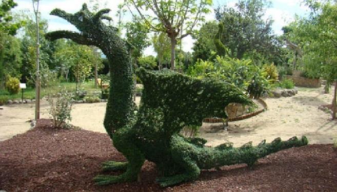 Dragón de El bosque encantado - Destino Castilla y León
