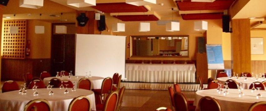 Salón de bodas del Hotel Vado del Duratón