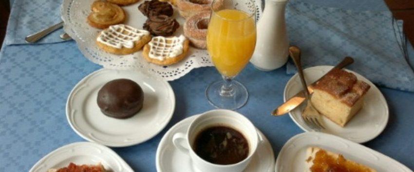 Desayuno del Hotel Vado del Duratón
