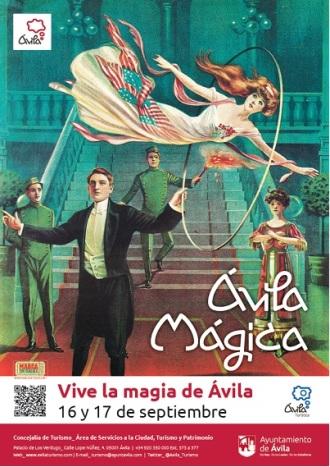 Cartel oficial de Ávila Mágica 2016