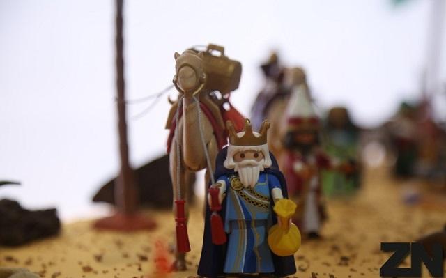 Belen de playmobil en Museo del Vino