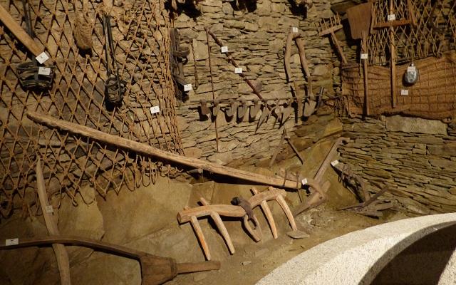Museo etnográfico de la zona dentro de la almazara - Destino Castilla y León